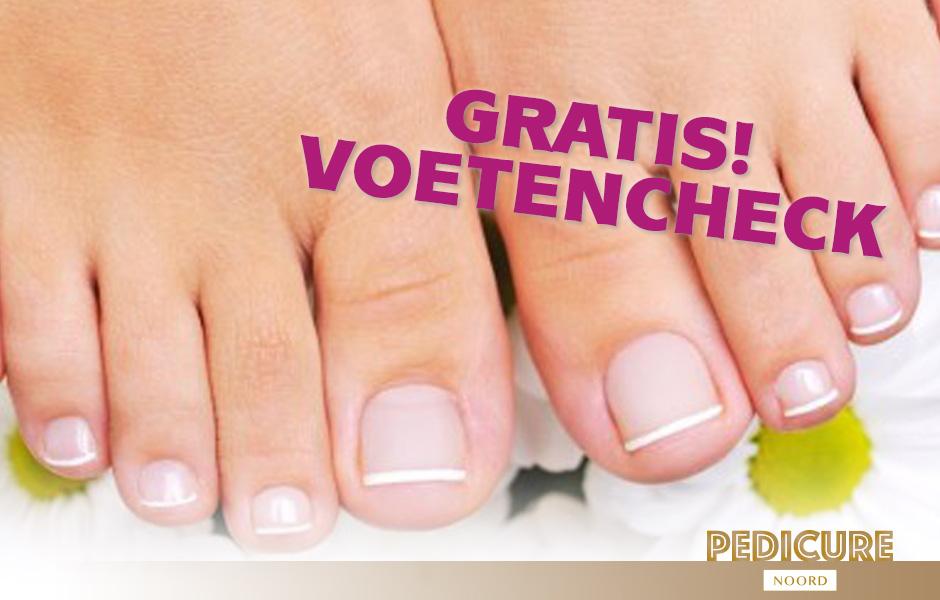Gratis Voetencheck bij Pedicure Noord - Medisch Pedicure Amsterdam