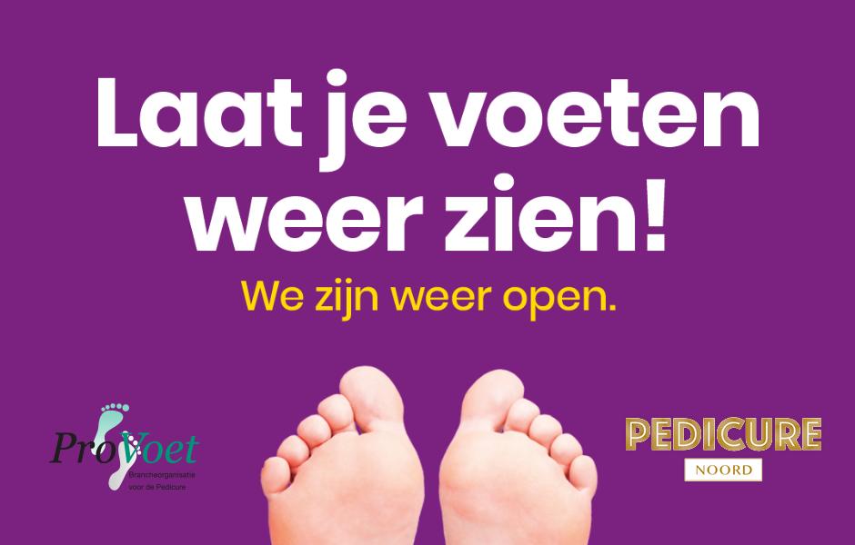 Laat je voeten weer zien bij Pedicure Noord in Amsterdam